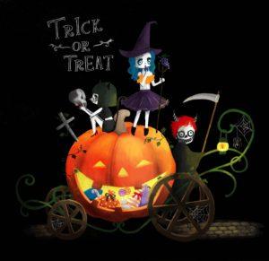 悪ガキ3人組。 #Halloween