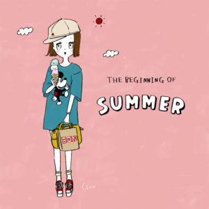 夏とアイスと偽ミッ〇ーと。。