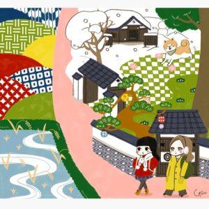 秋田犬、武家屋敷、初雪、あきたこまち…秋田へ女子旅。