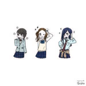 雑誌nicola(二コラ)4月号 中学生女の子 挿絵 新潮社 様
