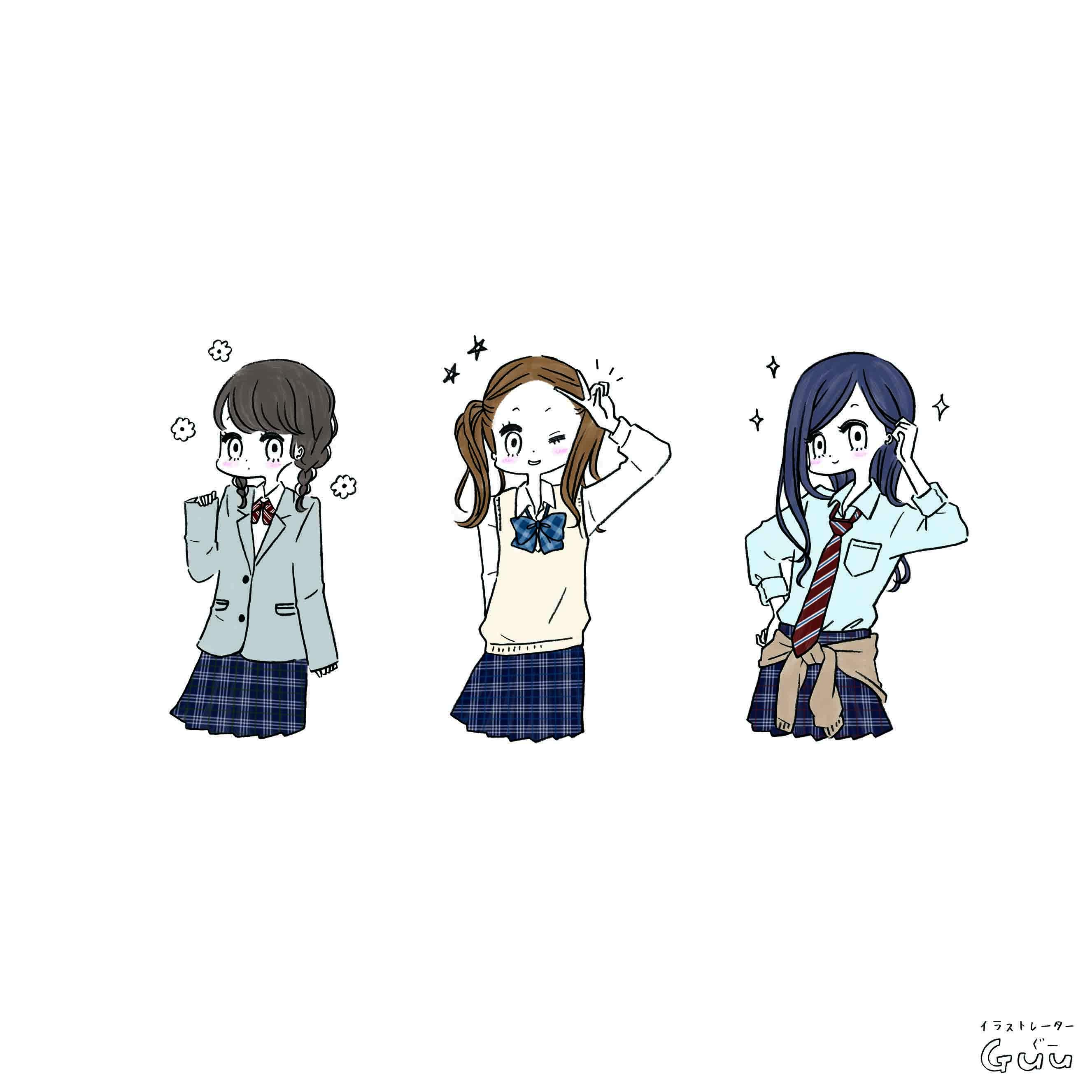雑誌nicola(二コラ)4月号 中学生女の子