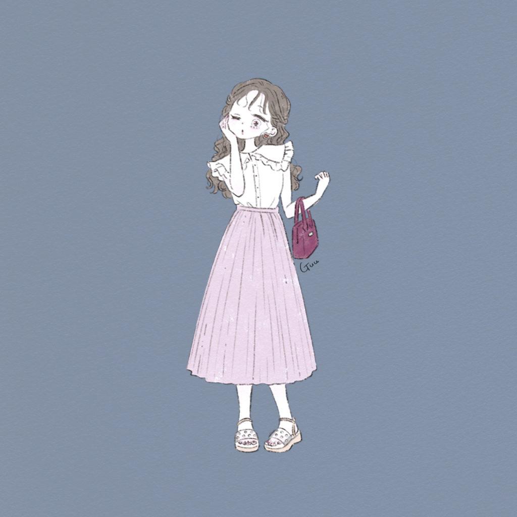 新潮社|nicola(ニコラ)|7月号「お題でコーデ組みレッツチャレンジ!」|Illustration: Guu